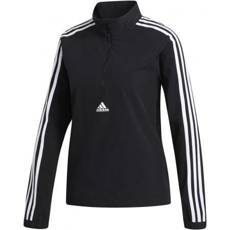 adidas WVN 3S 1/2 ZIP - Dámská sportovní bunda