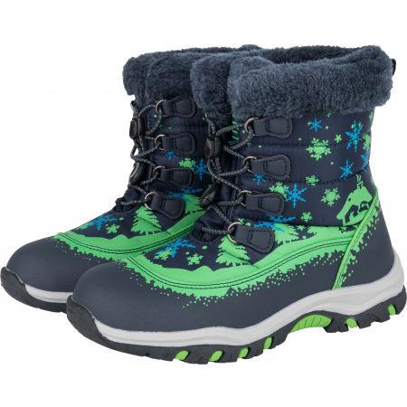 Dětská zimní obuv - ALPINE PRO TREJO - 2