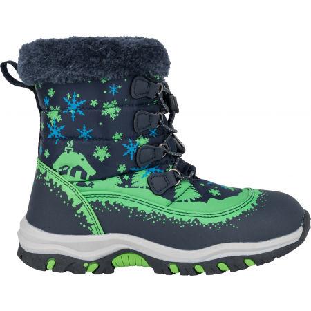 Dětská zimní obuv - ALPINE PRO TREJO - 3