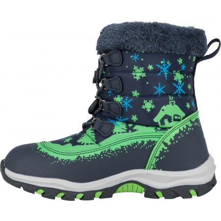 Dětská zimní obuv - ALPINE PRO TREJO - 4