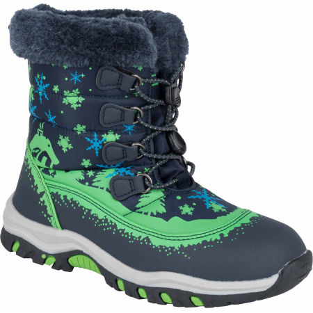 ALPINE PRO TREJO - Kids' winter footwear