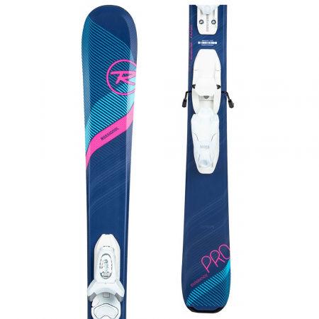 Rossignol EXPERIENCE W PRO KID-X + KID-X 4 B76 - Juniorské zjazdové lyže