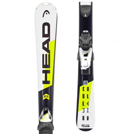 Dětské sjezdové lyže - Head SUPERSHAPE TEAM SLR2 + SLR 7.5AC - 1