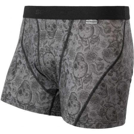 Sensor MERINO IMPRESS - Men's boxer briefs