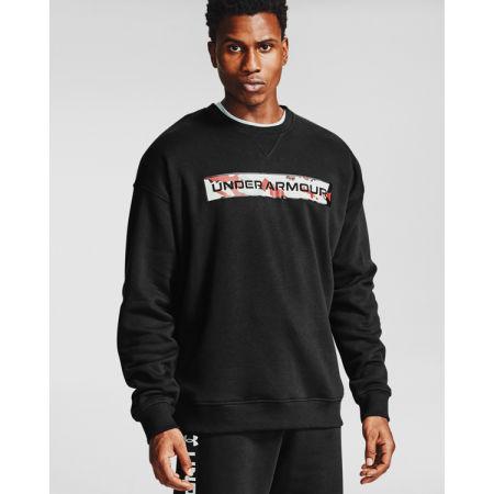 Men's sweatshirt - Under Armour RIVAL FLEECE CAMO - 3