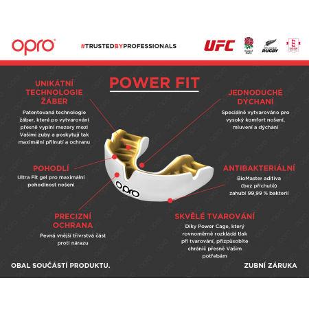 Chránič zubů - Opro POWER FIT SK - 4