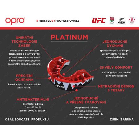 Шини за предпазване на зъбите - Opro PLATINUM UFC - 7
