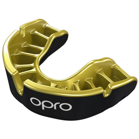 Opro GOLD JUNIOR BLK - Children's mouth guard