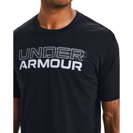Pánské triko - Under Armour BLURRY LOGO WORDMARK SS - 5
