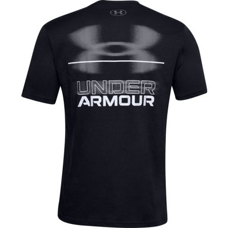 Pánské triko - Under Armour BLURRY LOGO WORDMARK SS - 2