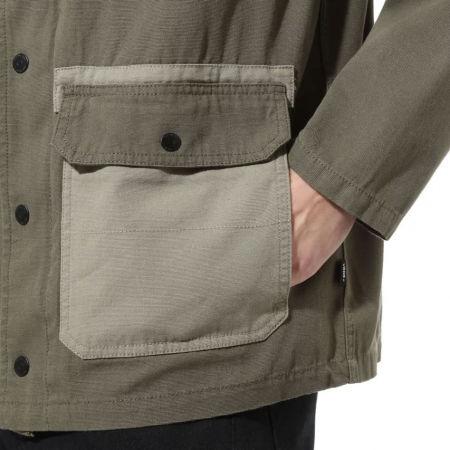 Men's jacket - Vans MN DRILL CHORE COAT MILITARY - 7