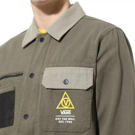 Men's jacket - Vans MN DRILL CHORE COAT MILITARY - 5