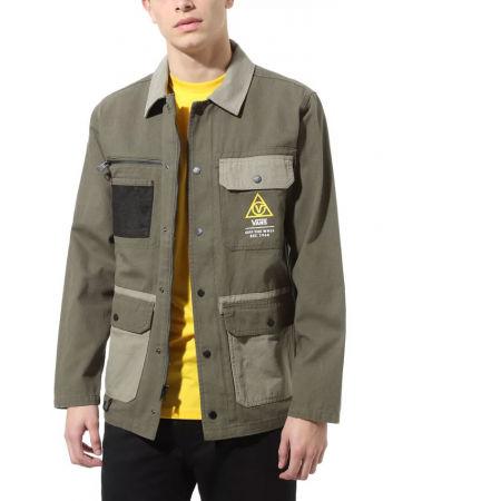 Men's jacket - Vans MN DRILL CHORE COAT MILITARY - 3