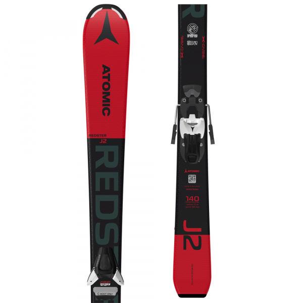 Atomic REDSTER J2 130-150 + COLT 5 GW - Detské zjazdové lyže