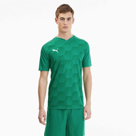 Мъжка спортна тениска - Puma TEAMFINAL 21 GRAPHIC JERSEY - 3
