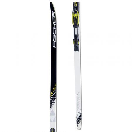 Fischer TWIN SKIN PERFORMANCE XTRA STIFF + CONTROL STEP-IN IFP - Běžecké lyže na klasiku s podporou stoupání