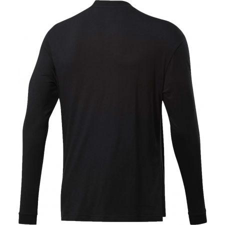 Men's T-Shirt - Reebok MEET YOU THERE LS TEE - 2