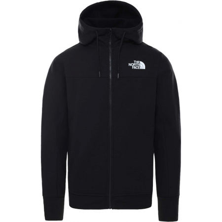 The North Face HIMALAYAN FULL ZIP HOODIE - Férfi pulóver