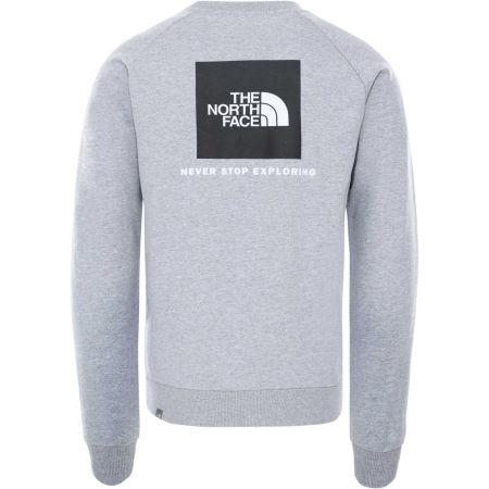 Men's sweatshirt - The North Face RAGLAN REDBOX CREW - 2