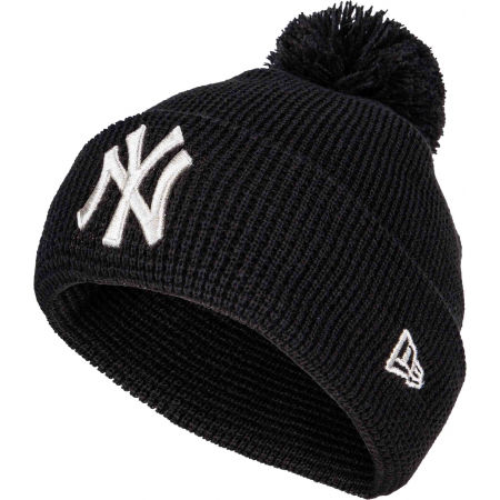 Women's beanie - New Era FEMALE BOBBLE CUFF NEW YORK YANKEES - 1