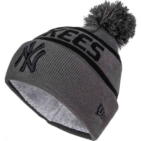 New Era TEAM JAKE BOBBLE NEW YORK YANKEES - Зимна шапка
