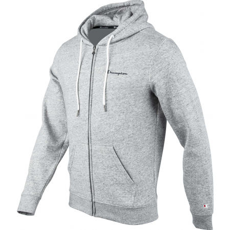 Men's hoodie - Champion HOODED FULL ZIP SWEATSHIRT - 2