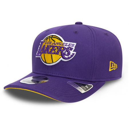 Șapcă bărbați - New Era 9FIFTY STRETCH SNAP TEAM LOS ANGELES LAKERS - 1
