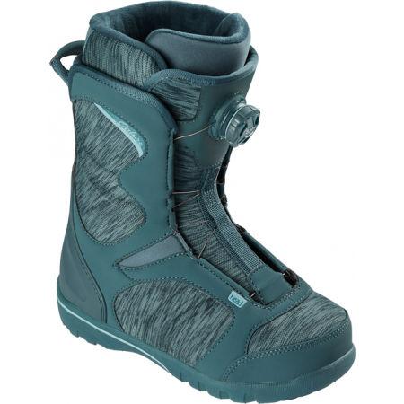 Head GALORE LYT BOA COILER DBLU - Dámská snowboardová obuv