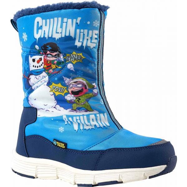 Warner Bros CHILLIN HIGH modrá 25 - Dievčenská zimná obuv