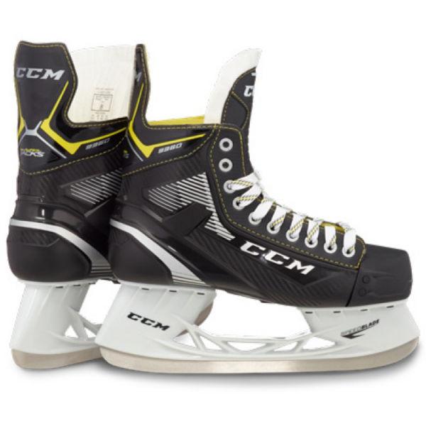CCM PLAYER TACKS 9350 SR BLK  9 - Hokejové brusle