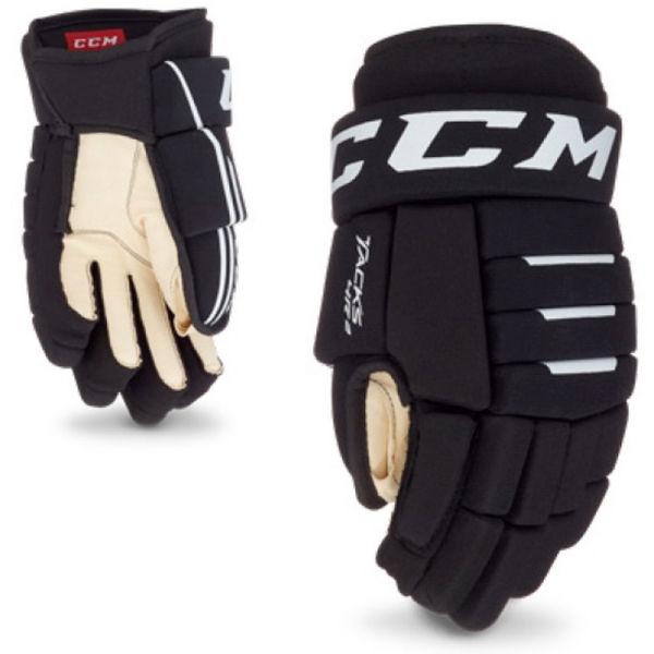 CCM TACKS 4R2 YT BLK  8 - Dětské hokejové rukavice