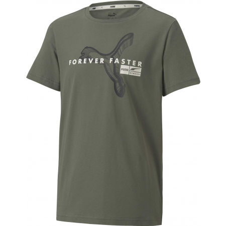 Puma ALPHA HOLIDAY TEE B - Boys' T-shirt