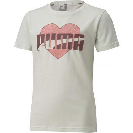 Puma ALPHA TEE G - Koszulka dziewczęca