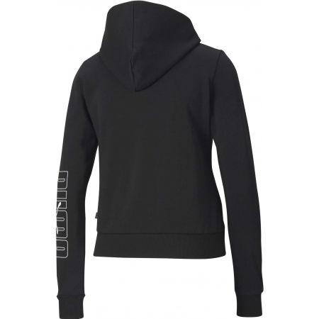 Women's hoodie - Puma REBEL FULL-ZIP HOODIE FL - 2