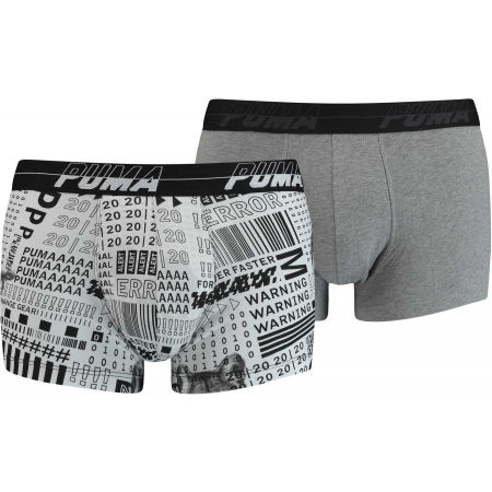 Men's boxer briefs - Puma ACTIVISM AOP TRUNK 2P - 1