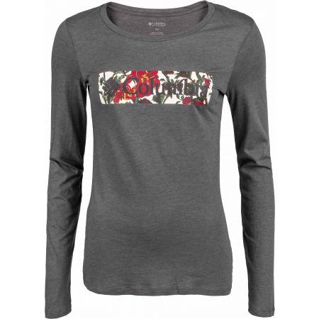 Columbia BLUSTERY PEAK LS TEE - Dámske tričko