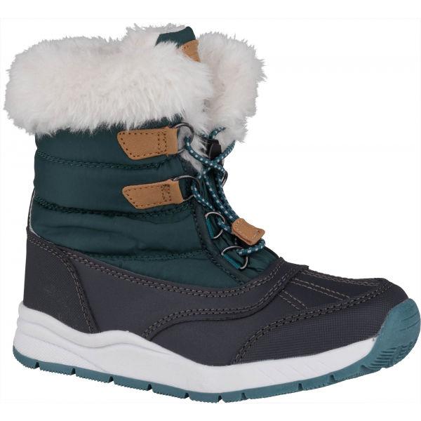 ALPINE PRO TEUTO  35 - Dětská zimní obuv