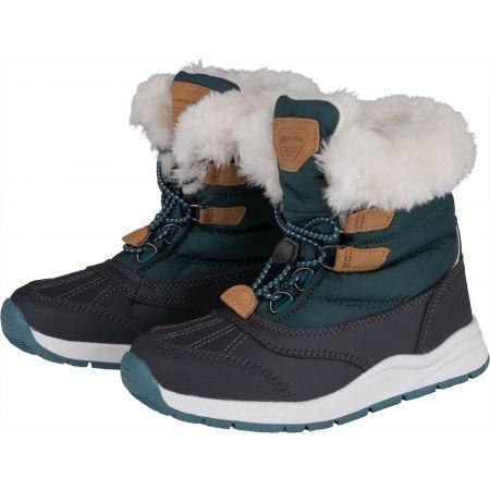 Dětská zimní obuv - ALPINE PRO TEUTO - 2