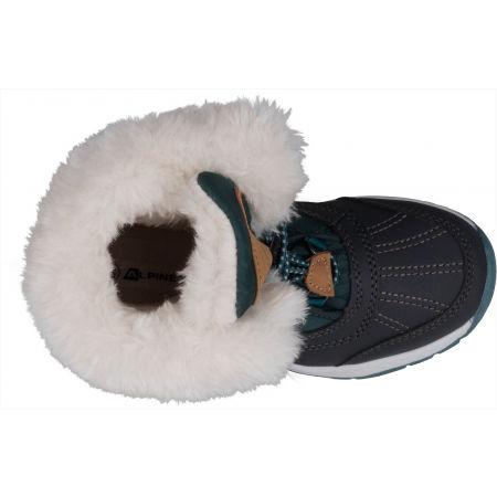 Dětská zimní obuv - ALPINE PRO TEUTO - 5