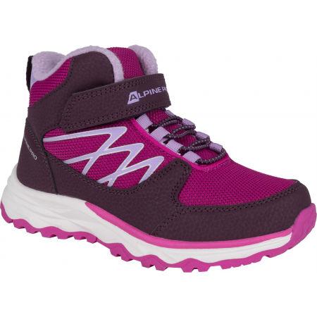 ALPINE PRO HALILO - Детски зимни обувки