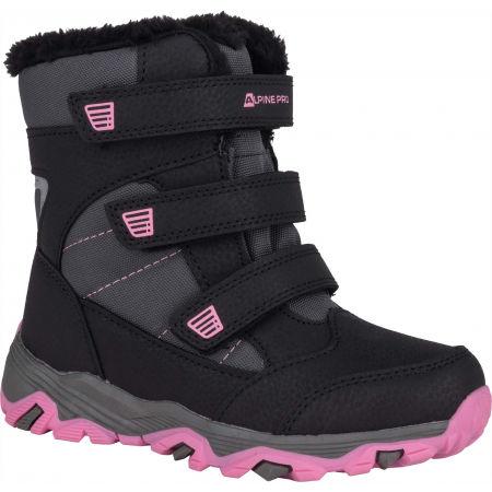 ALPINE PRO KURTO - Detská zimná obuv
