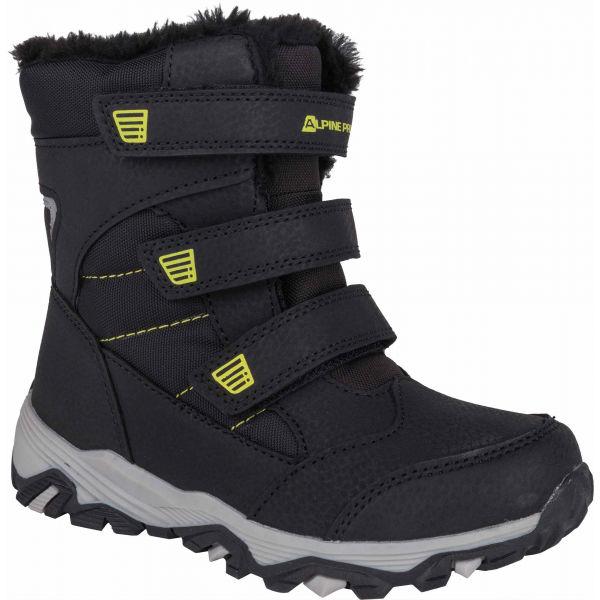 ALPINE PRO KURTO biela 37 - Detská zimná obuv