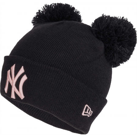 New Era WMNS MLB DOUBLE BOBBLE NEW YORK YANKEES - Women's winter hat