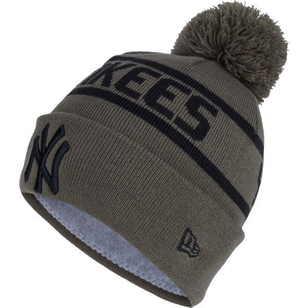 New Era MLB BOBBLE CUFF NEW YORK YANKEES - Zimná čiapka