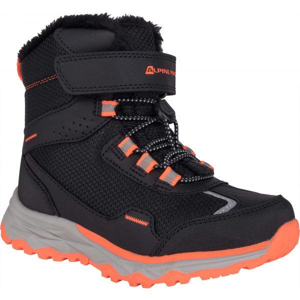 ALPINE PRO VESO čierna 30 - Dievčenská zimná obuv