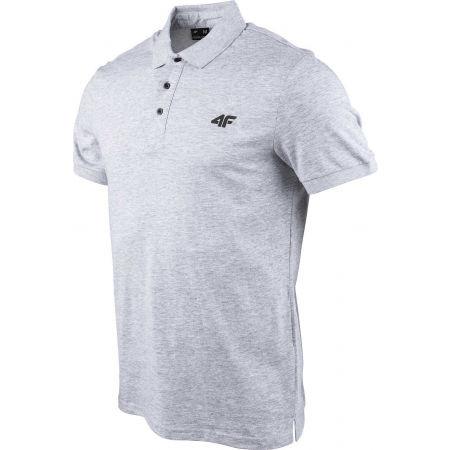 Мъжка  тениска с яка - 4F MEN´S T-SHIRT - 2