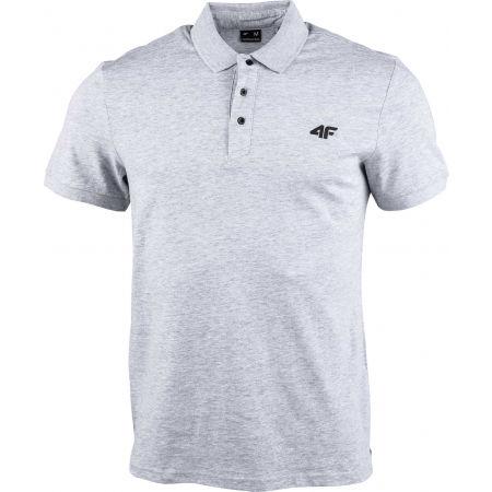 4F MEN´S T-SHIRT - Мъжка  тениска с яка