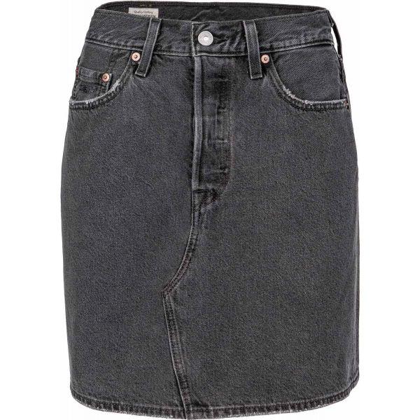 Levi's HR DECON ICONIC BF SKIRT CORE  26 - Dámska riflová sukňa