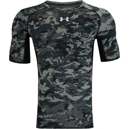Under Armour ARMOUR HG PRINT SS - Men's functional T-Shirt