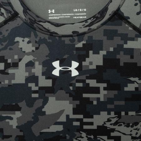 Pánské kompresní triko - Under Armour ARMOUR HG PRINT SS - 3